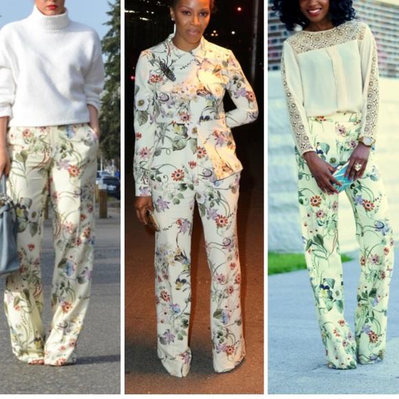 010224e2 Zara Bloggers Fave Floral Wide Leg Trousers. M_5b9bcec1d6dc52e2a9f8818f